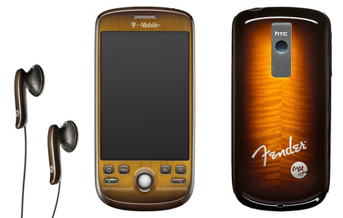 New Fender-styled HTC T-Mobile myTouch 3G Live in Photos