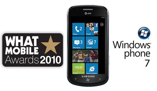 "Windows Phone 7 wins ""What Mobile"" Editors Choice Award"