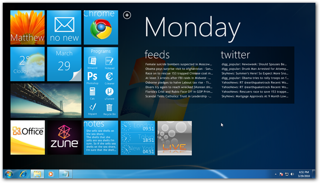 wp7 pc desktop
