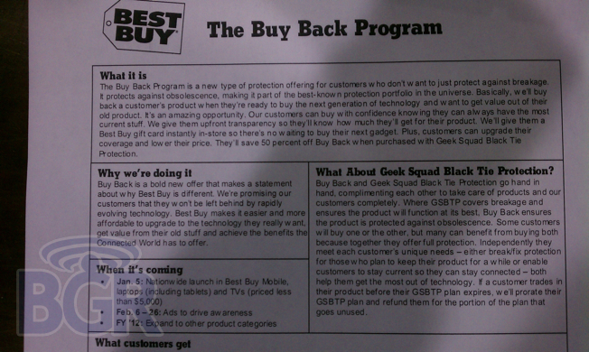 Best Buy's new 'Buy Back' program to launch January 5th