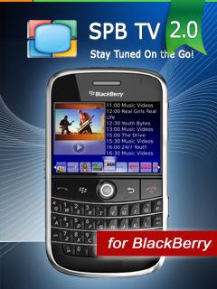 [Press-release] SPB TV 2.0 Comes to BlackBerry – FREE