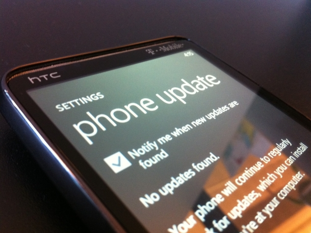 New Windows Phone 7 update details spotted!