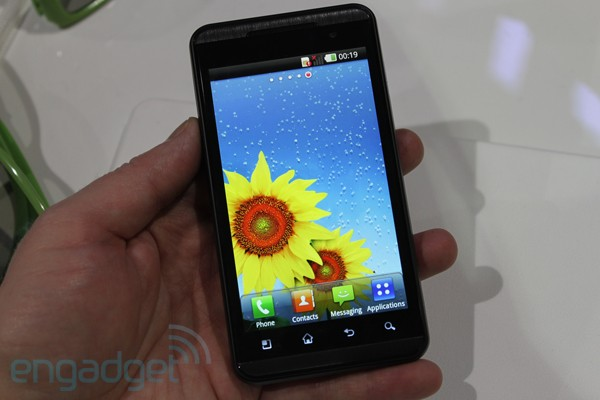 First 3D Android smartphone in the world – LG Optimus