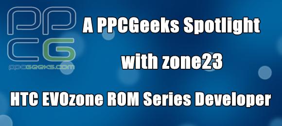 [Q&A] PPCGeeks Spotlight: zone23 – EVOzone ROM series