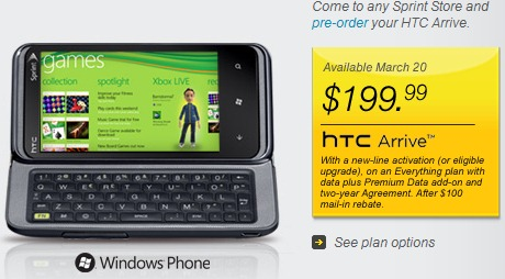HTC-Arrive-Windows-Phone-7-Sprint-Pricing