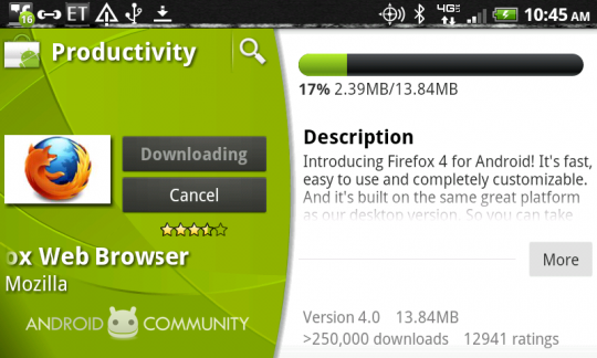 PPCGeeks com – Download Firefox 4 for Android now!