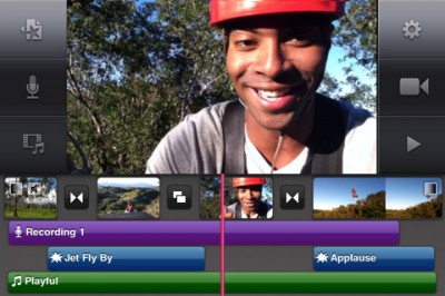 iMovie – Universal app for iPhone 4, iPad2 and iPod Touch 4