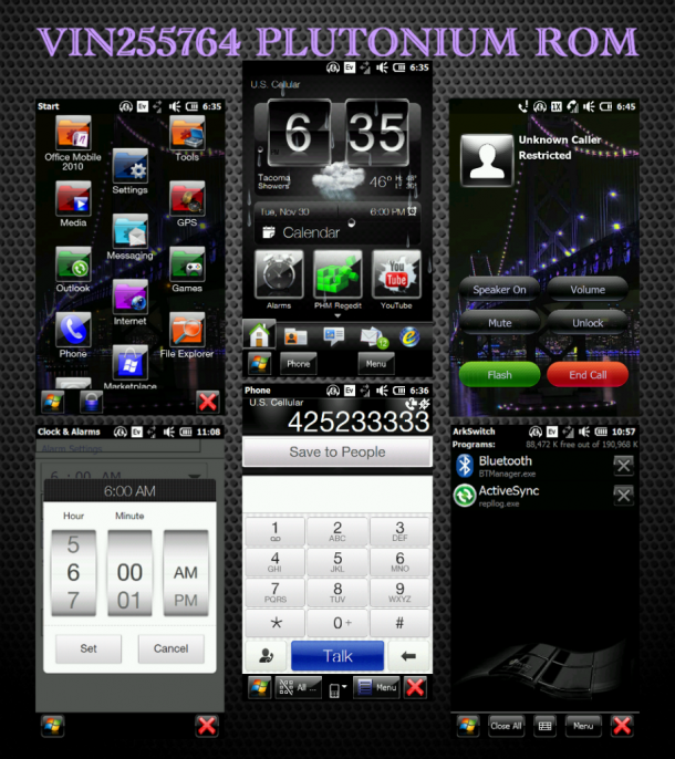 [ROM REVIEW] Touch Pro 2 Plutonium ROM by vin255764