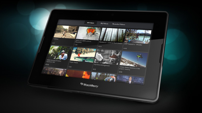 Blackberry Playbook sales have exceeded expectations!