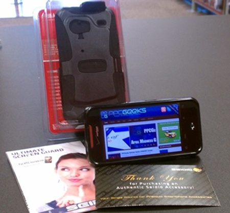 (GIVEAWAY) PPCGeeks Review: Seidio CONVERT Case for the HTC Incredible