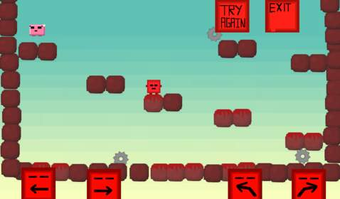 Meatboy Windows mobile game