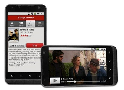 Netflix finally released an Android app for select HTC phones & the Samsung Nexus S