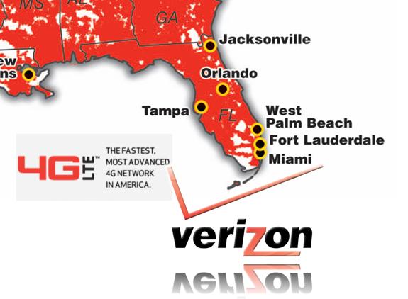 Verizon To Expand Florida's 4G Market