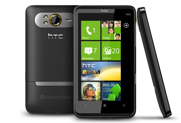 T-Mobile HTC HD7 Free, with 2 Yr. Contract