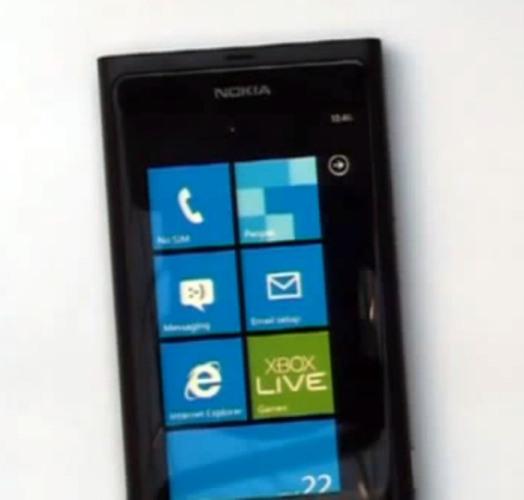 Nokia Windows Phone 7: First Look