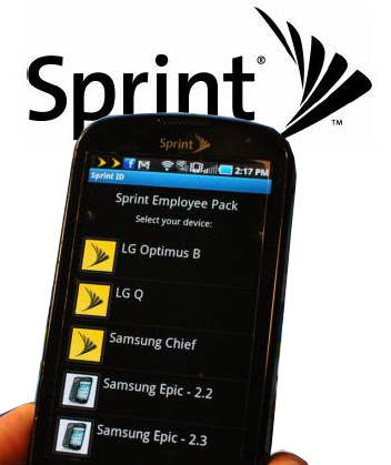 Sprint ID App, reveals some new devices
