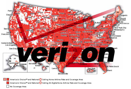 Verizon 4G blankets more locations, July 21st