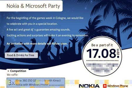 MIcrosoft and Nokia Show Off August 17th!