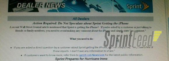 Sprint Gags Its Employees About…