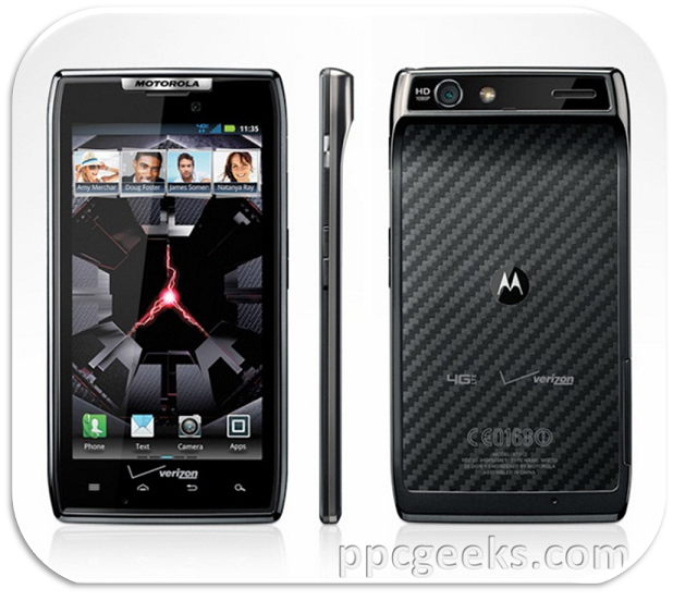 Motorola DROID RAZR smartphone for Verizon on sale 11/11/11