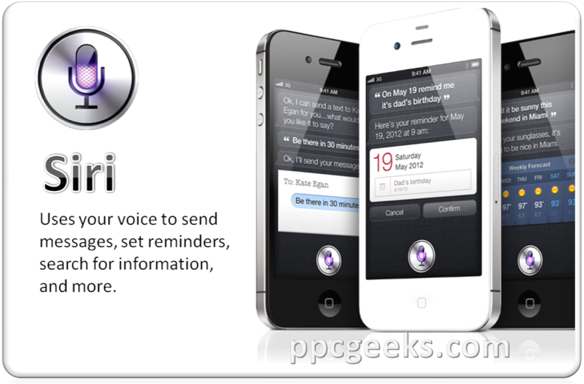 Ppcgeeks Com Siri Running On Iphone 4 And Ipod Touch 4g