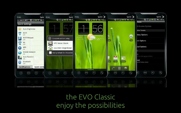 [ROM] The EVO Classic – Sense 1.0 Redefined