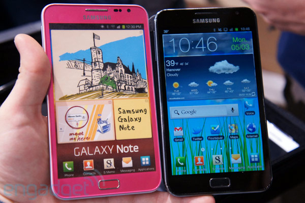 Samsung to release a pink Galaxy Note!