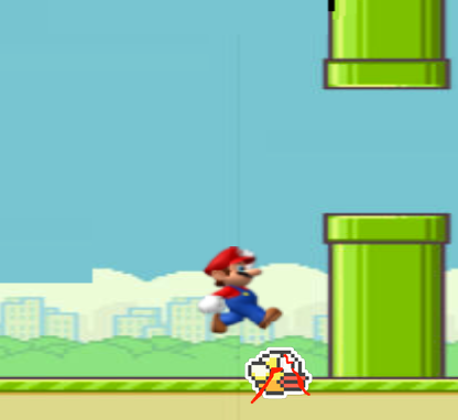 Flappybird Controversy over apparent use of Super Mario Brio Graphic's