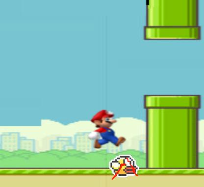 Flappybird Controversy over apparent use of Super Mario Brio Graphic's